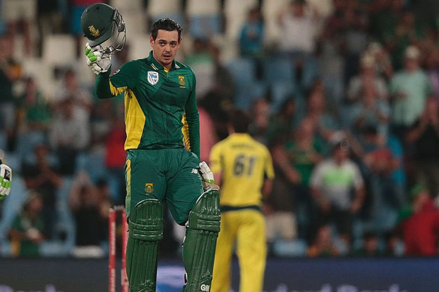 SA Ride On de Kock Special to Thrash Australia In 1st ODI