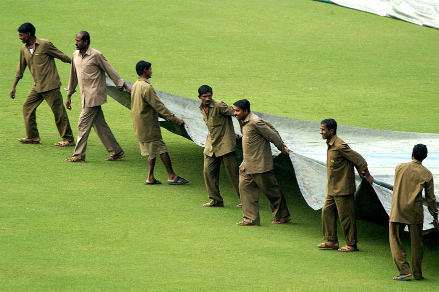 India vs New Zealand Live Score: Rain Halts Play at Eden Gardens
