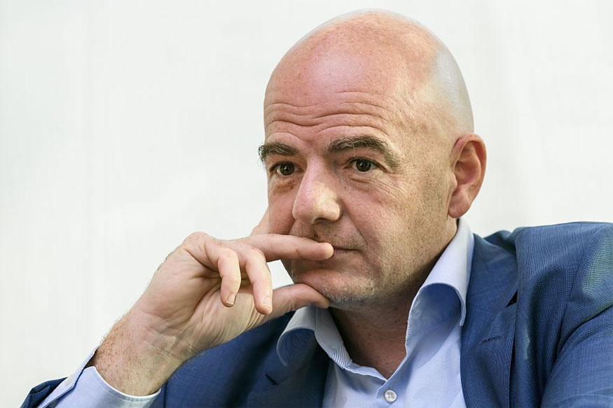 FIFA president Gianni Infantino (Getty Images)