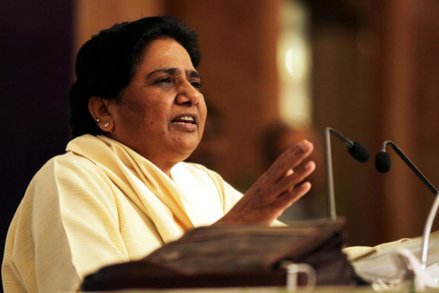 SP Slams Mayawati For Dynasty politics; Says She Doesn't Have Any Option Left