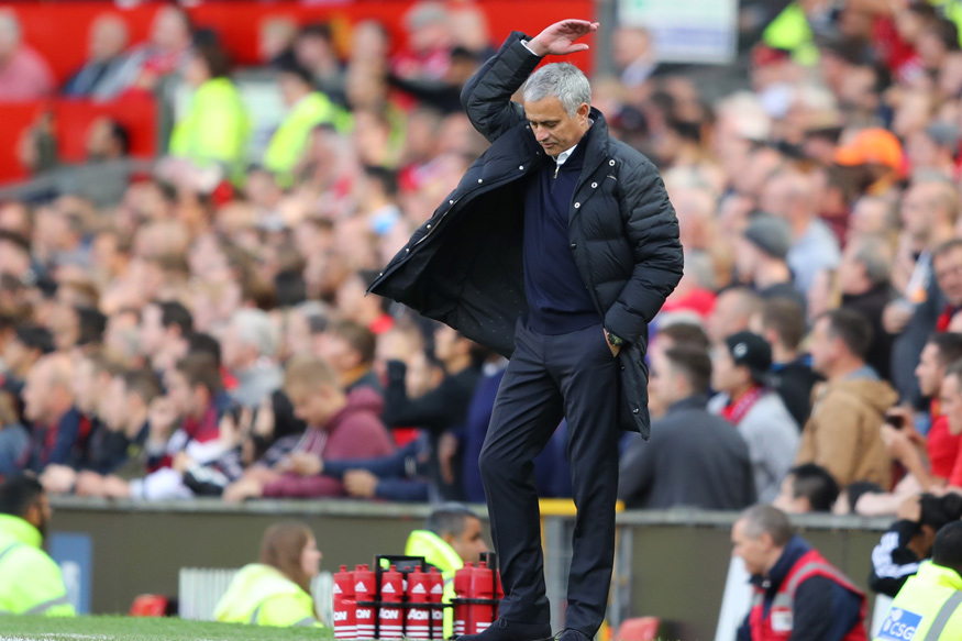 Image result for Jose Mourinho calls on fans to show respect at Liverpool against Manchester United