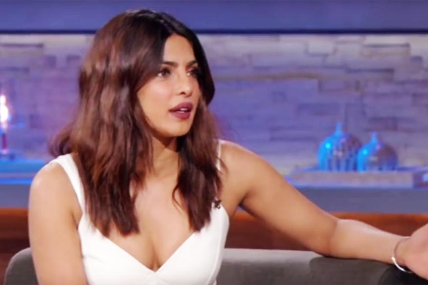 Chat Show Host Asks Priyanka Chopra If She Knew English When She First Came to the US