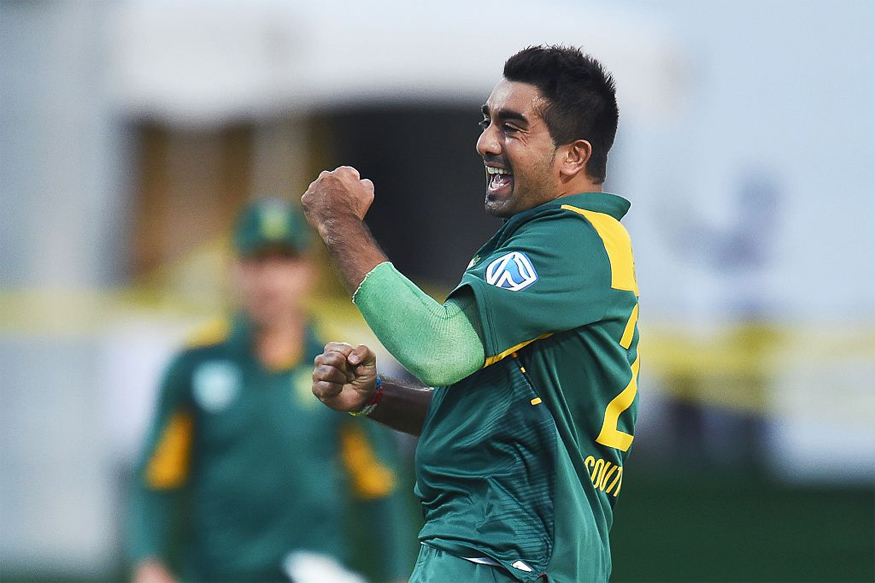 Tabraiz Shamsi. (Getty Images)