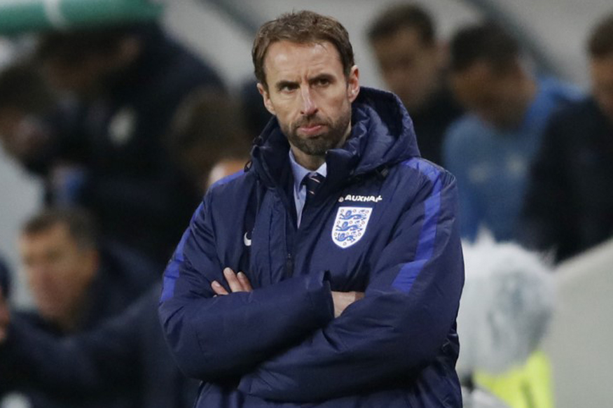 A file photo of England's interim manager Gareth Southgate. (Reuters)