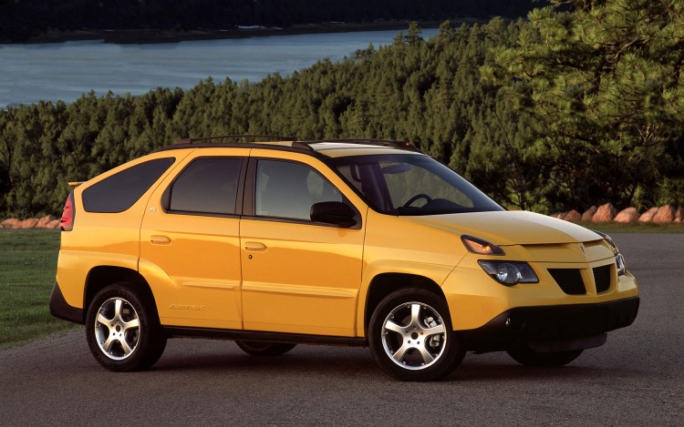 Pontiac Aztek (2001-2005) (Image: General Motors)