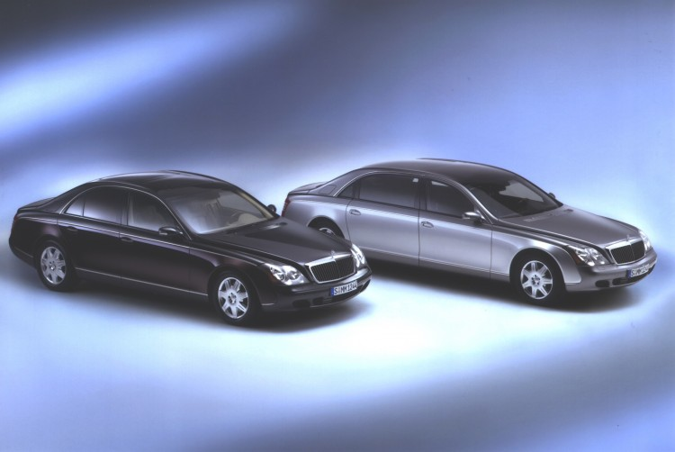 Maybach 57/62 (2005-2013) (Image: Daimler AG)