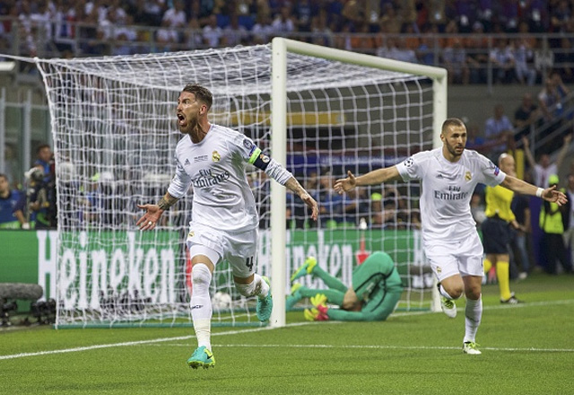 File Image of Sergio Ramos and Karim Benzema. (Getty Images)