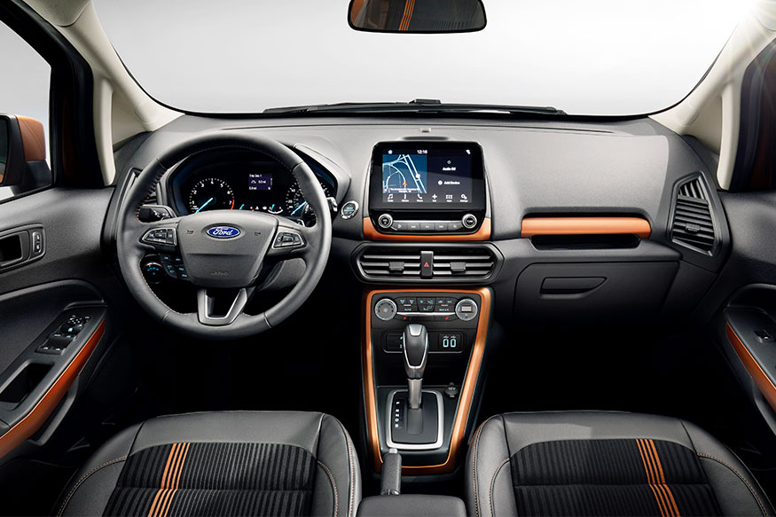 Ford EcoSport interiors deisgn features price details & New Ford EcoSport Unveiled Ahead of 2016 LA Auto Show Expected to ... markmcfarlin.com
