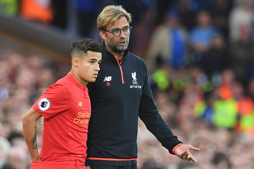 File Image of Jurgen Klopp. and Phillipe Coutinho. (Getty Images)