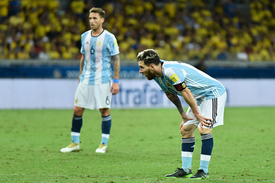 Lionel Messi's Argentina in danger of securing a WC 2018 berth. (Getty Images)