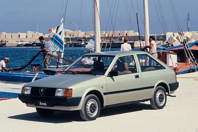 Alfa Romeo Arna (1983-1987) (Image: FCA)