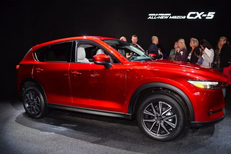 Mazda CX-5 at the 2016 LA Auto Show (Image: Newspress)