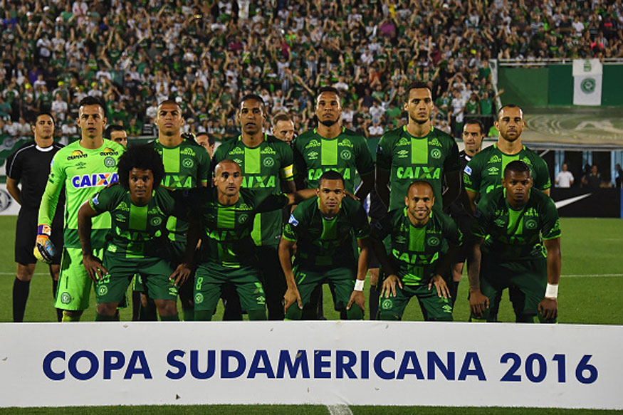 The Chapecoense team (Getty Images)
