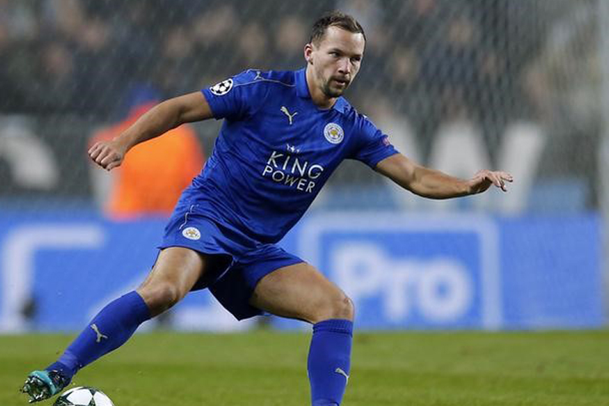 A file photo of Leicester City midfielder Danny Drinkwater. (Reuters)