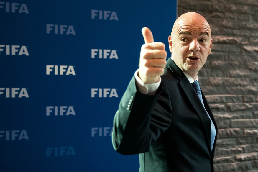 Gianni Infantino. (Image credit: Getty Images)