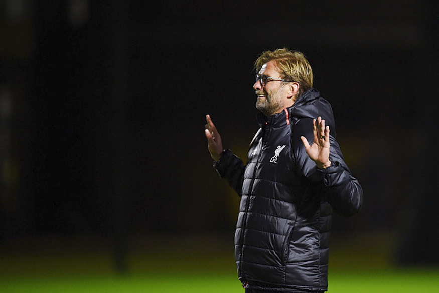 Juergen Klopp. (Getty Images)