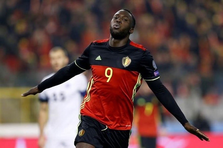 Everton's Belgian striker Romelu Lukaku. (Photo Courtesy: Reuters)