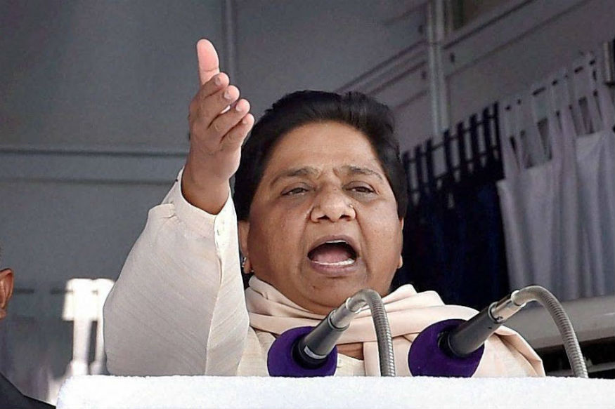 BJP Conspiring to Abolish Reservation, Claims Mayawati