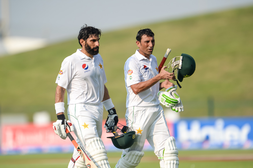 Misbah-ul-Haq and Younis Khan. (Getty Images)