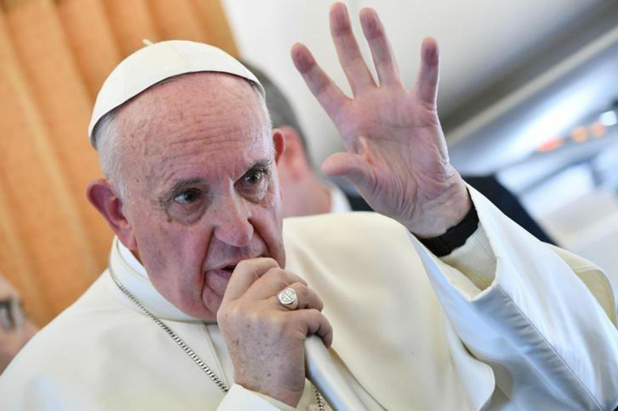 A file photo of Pope Francis. (Getty Images)