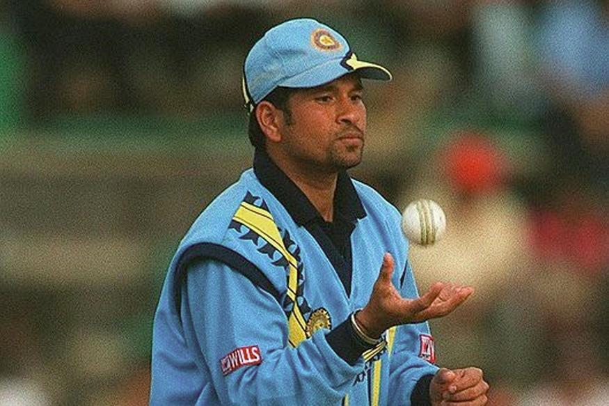 Sachin Tendulkar. (Image credit: Getty Images)