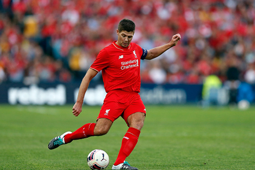 A file photo of Steven Gerrard. (Getty Images)