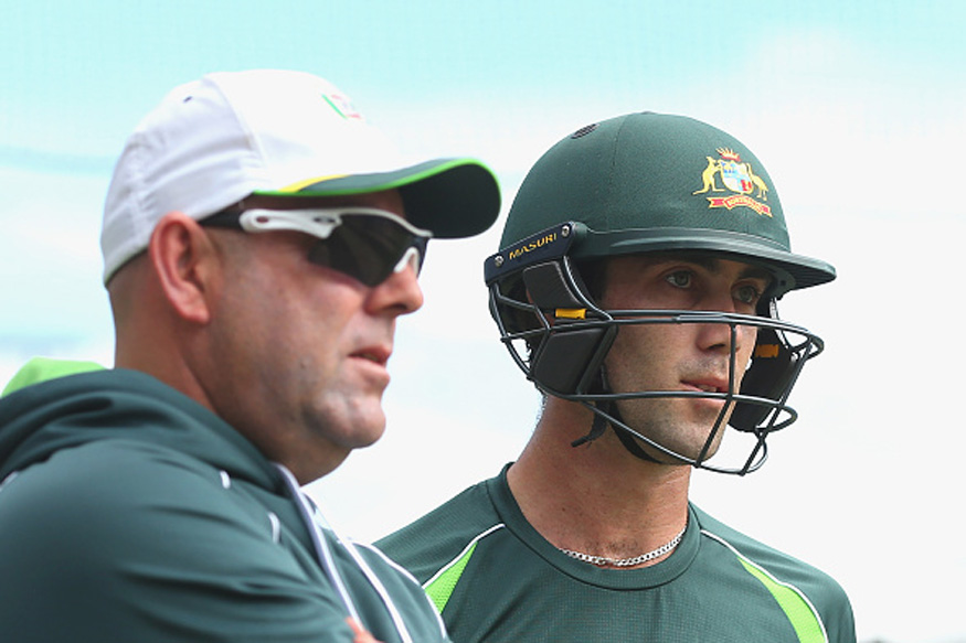 File Image of Darren Lehmann and Glen Maxwell. (Getty Images)