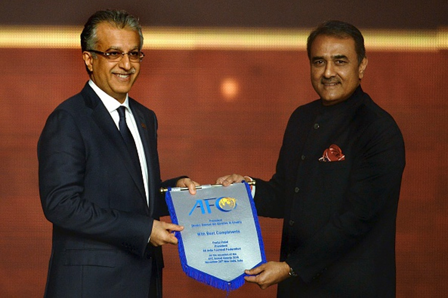 AIFF President and AFC VP Praful Patel. (Getty Images)
