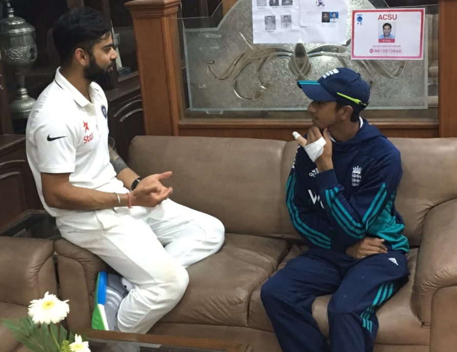 Haseeb Hameed Reveals Details of Conversation with Virat Kohli