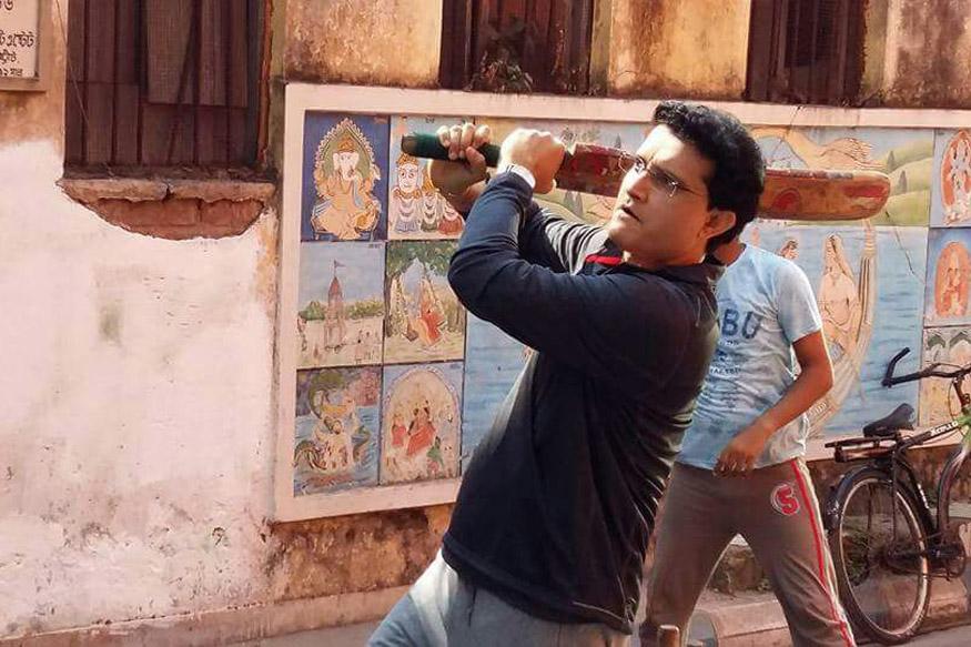 Sourav Ganguly - Dada of Gully Cricket