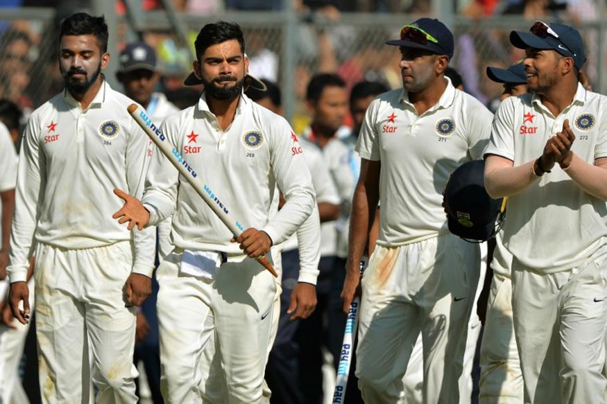 File image of Indian Test Team. (AFP Photo)