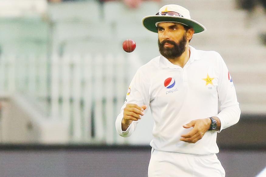 Pakistan captain Misbah-ul-Haq. (Getty Images)