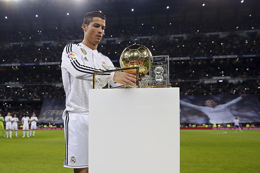 Cristiano Ronaldo. (Getty Images)