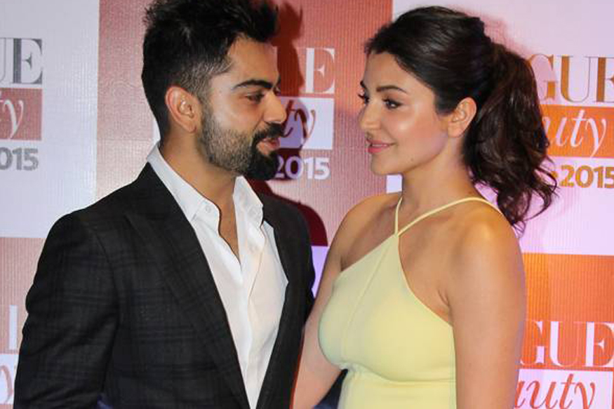 Image result for virat with anushka