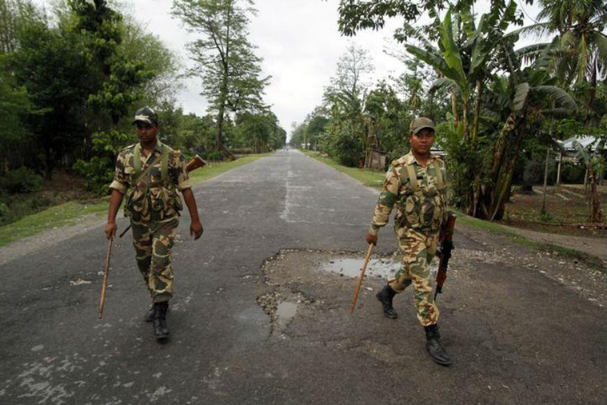 Militants Ambush Assam Rifles Vehicle; 4 Security Personnel, Ultras Killed