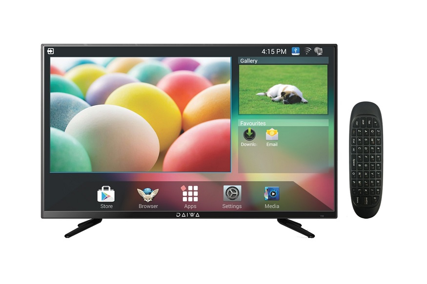 Daiwa Launches 40-Inch Smart TV at Rs 22,900