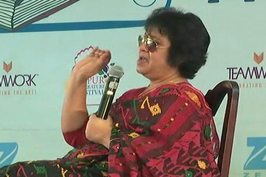 Taslima Nasreen Bats for Uniform Civil Code in 'Secret' Jaipur Lit Fest Session