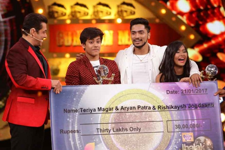 Teriya Magar's moment of winning Jhalak Dikhhla Jaa...Hot Hai (3)