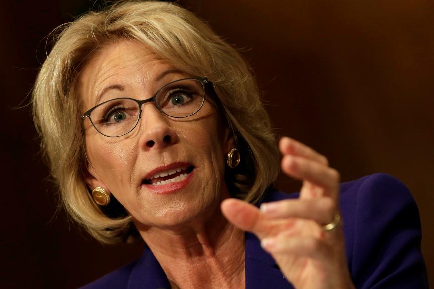 Trump's Education Secy Pick Faces Flak for Grammar Error in Tweet