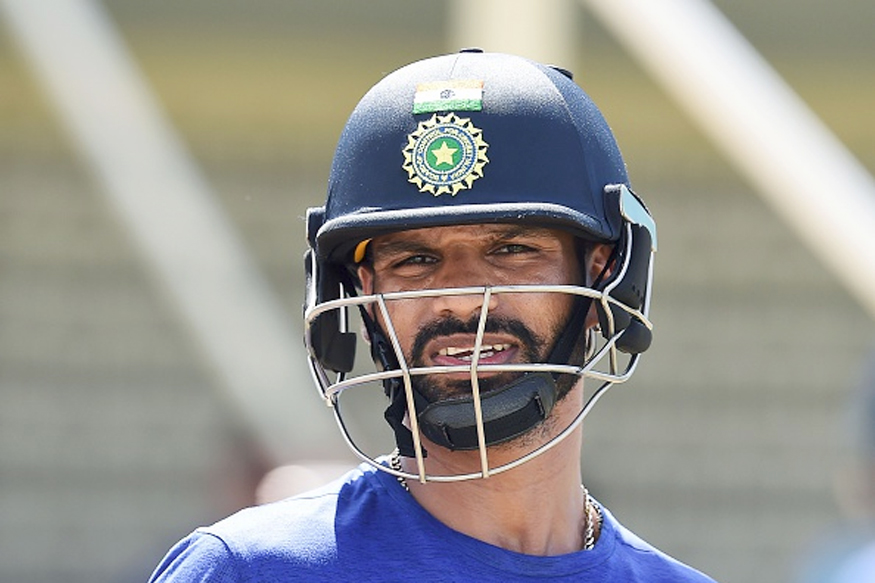Shikhar Dhawan in Hospital Ahead of 3rd ODI Against England