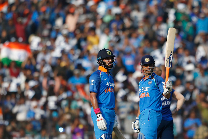 Yuvraj, Dhoni and Ashwin Power India to Series Win at Cuttack