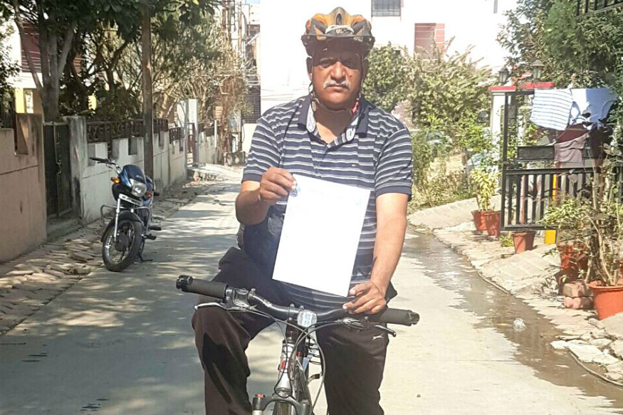 Thane Man Vows to Fight Global Warming, Will Pedal 1,300 km to Raise Awareness