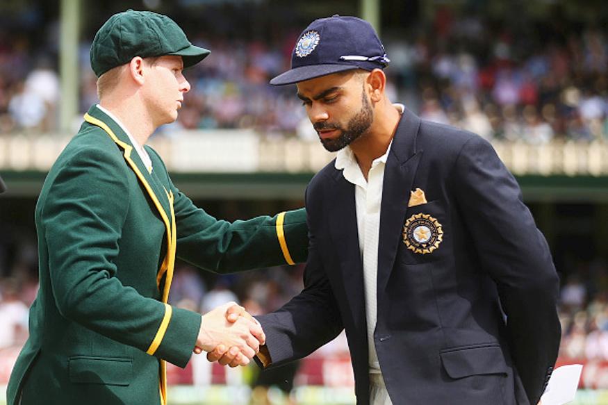 Steve Smith and Virat Kohli. (Getty Images)