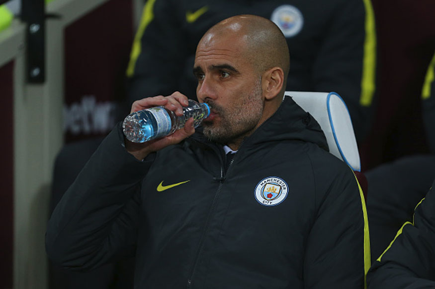 Man City manager Pep Guardiola. (Photo Credit: Getty Images)