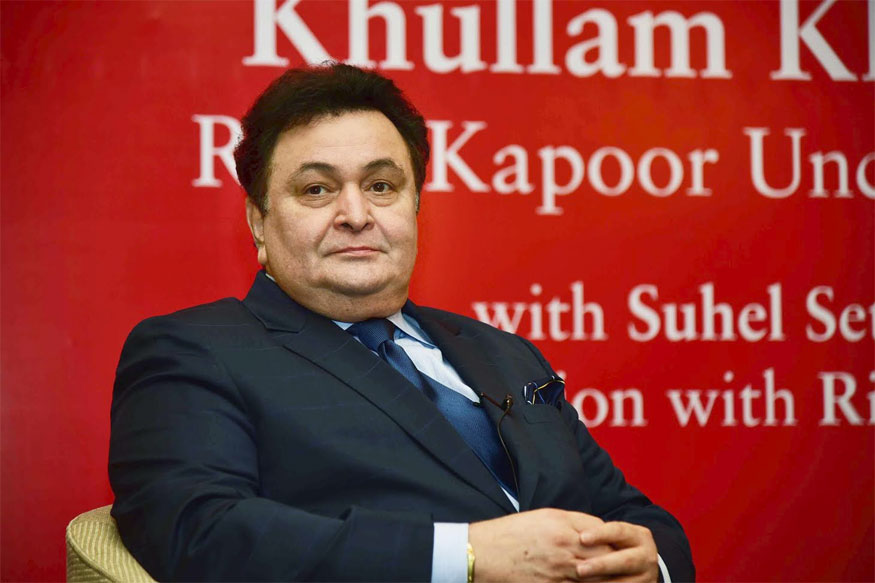 Rishi Kapoor Takes Jibe at Media With 'Muft Ki Daru' Comment