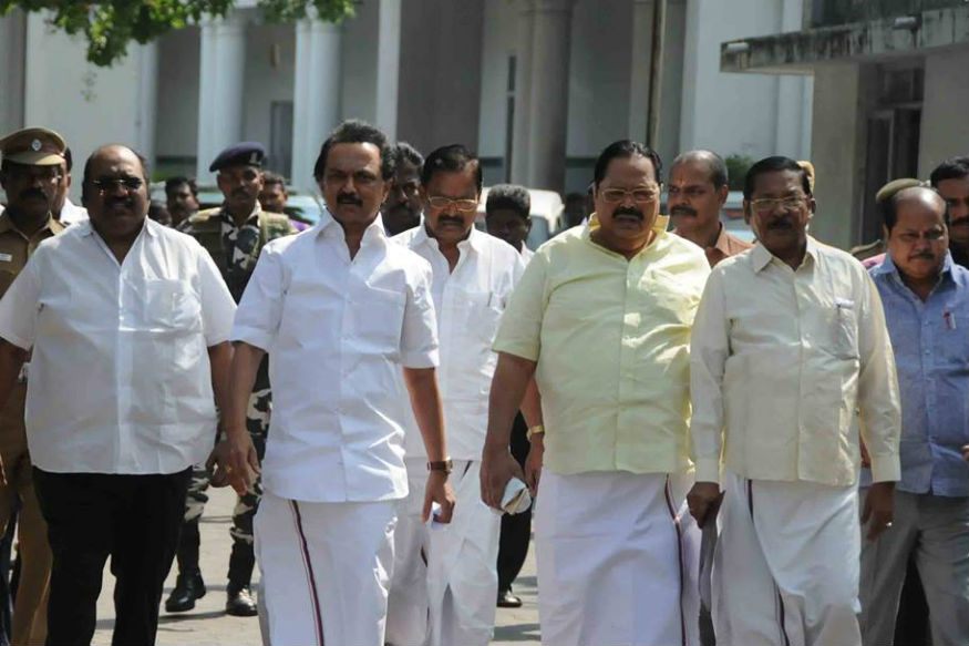 Stormy Start to Tamil Nadu Assembly Session, DMK Stages Walkout