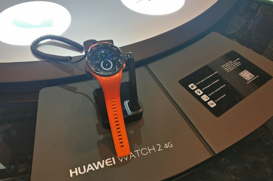 Huawei Watch 2 First Look: Check Out The New Huawei Android Wear at MWC 2017