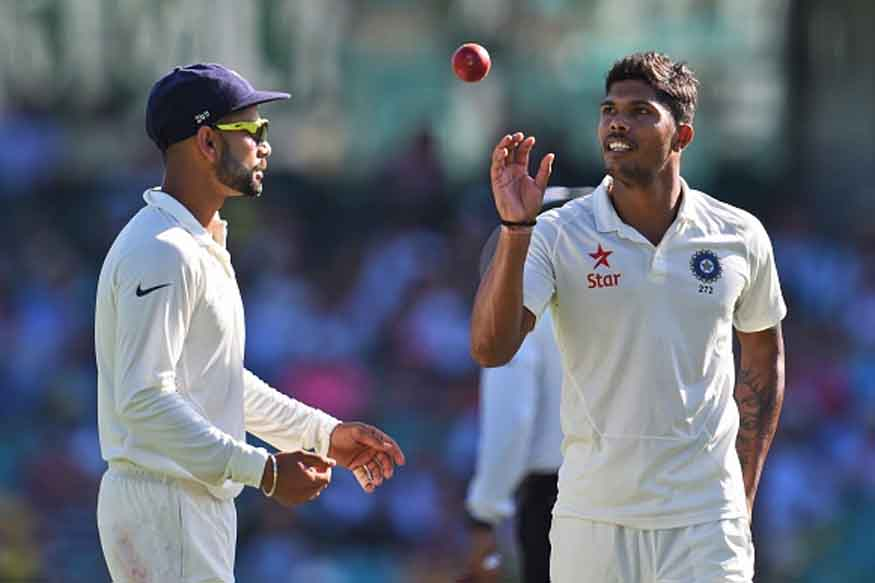 File image of Indian pacer Umesh Yadav (R) with Virat Kohli. (Getty Images)