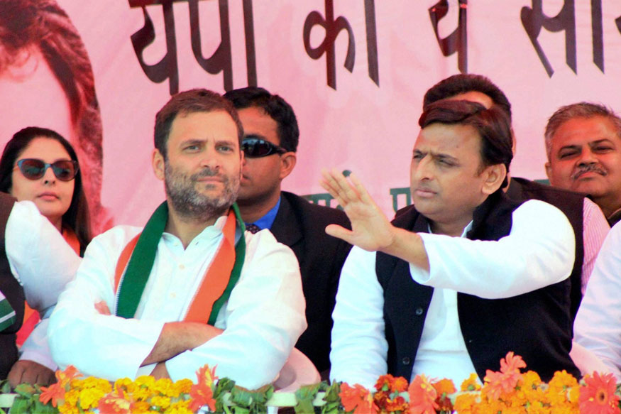 Congress, Samajwadi Party to Contest UP Lok Sabha Bypolls