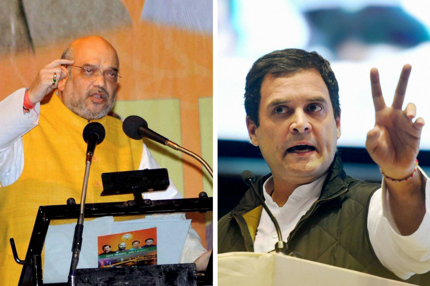 As Rahul Prepares to Wear Congress Crown, BJP Takes the Battle to His Den
